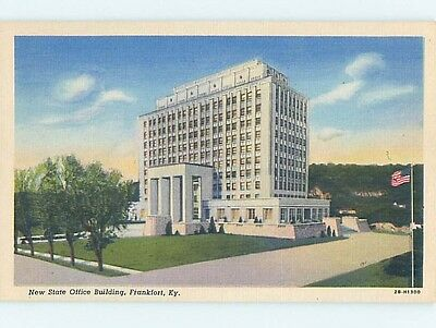 Unused Linen STATE OFFICE BUILDING Frankfort Kentucky KY HM9372-12