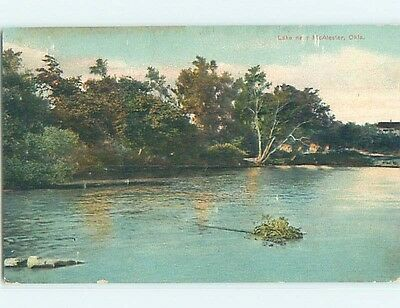 Divided-Back POSTCARD FROM Mcalester Oklahoma OK HM7930