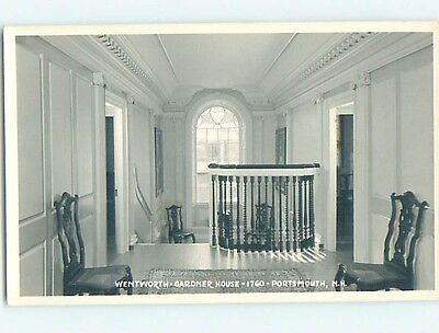 Pre-1950 rppc WENTWORTH GARDNER HOUSE Portsmouth New Hampshire NH HM3631