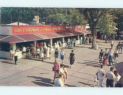 Pre-1980 CONCESSION STAND AT CAMDEN PARK Huntington West Virginia WV hk5634