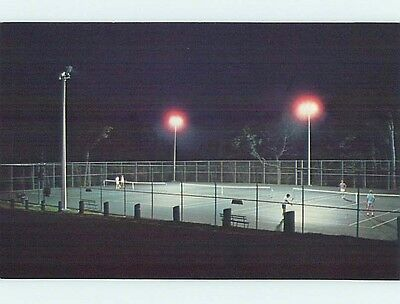 Pre-1980 TENNIS COURTS AT PIPESTEM PARK near Beckley West Virginia WV hk5991