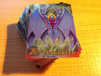 X Men 96 Chromium Complete Set Of 99 Signature Series Cards