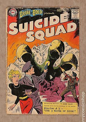 Brave and the Bold (1955 1st Series DC) #25 FR/GD 1.5