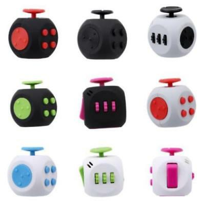 NEW Fidget Cube Anxiety Stress Relief Focus Gift Toys Adult Kids Attention LG