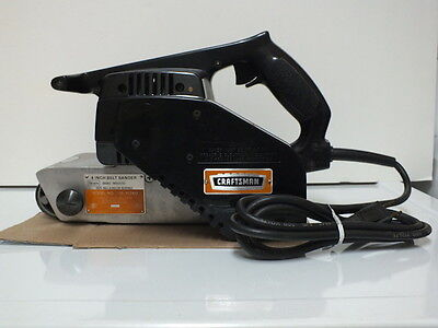 Sears Commercial 4 Inch Belt Sander, Used Little, Double Insulated, Very Nice!