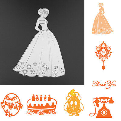 Scrapbooking Metal Cutting Dies Stencil DIY Cards Album Paper Embossing Craft