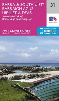 Barra & South Uist, Vatersay & Eriskay by Ordnance Survey 9780319261293