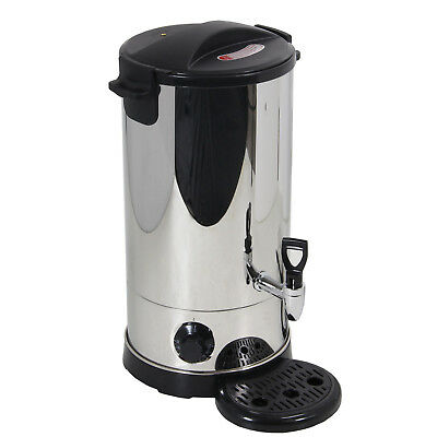 9L Stainless Steel Tea Urn Electric Catering Hot Water Boiler Coffee