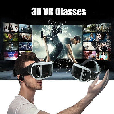 3D Brille VR BOX Virtual Reality Film Glasses Für Smartphone Iphone PC Gamepad