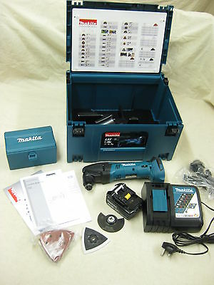 Makita DTM50RM1J1 18v LXT Multitool 4.0Ah battery full kit Li-ion Lithium NEW ()
