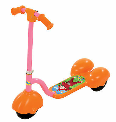 Teletubbies 3-Wheel Po Scooter with Sound Effects