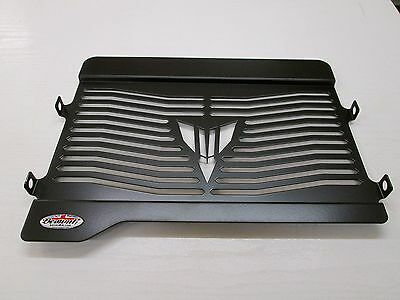 Yamaha MT-07 Tracer Black Radiator Protector, Cover, Grill, Guard Y036PCB