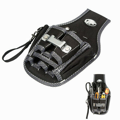Electrician Waist Pocket Tool Belt Pouch Bag Utility Screwdriver Kit Holder Case