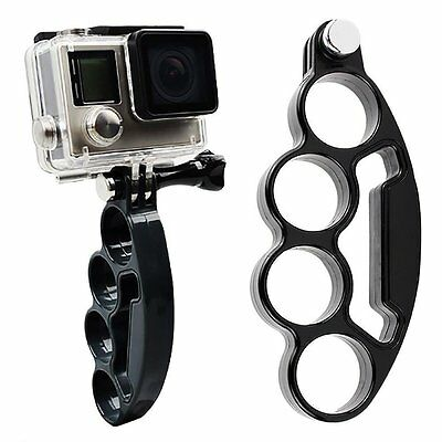 Knuckles Finger Mount Self-Grip Stylish Ring Stabilizer For Gopro Hero 2 3+ 4 5