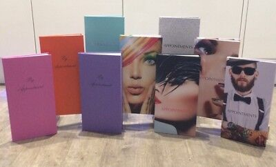 Quirepale 3 Column Appointment Books - Hairdressers, Beauticians, Salons, Spas