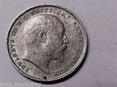 1906 Silver Threepence Piece in Excellent Condition (See Pics)