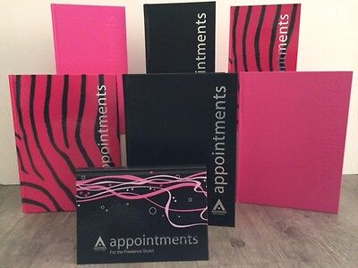 Agenda 3 & 6 Column Appointment Books - Hairdressers, Beauticians, Salons, Spas
