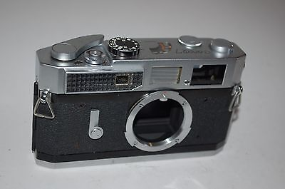 Canon-7 Vintage Japanese Rangefinder Camera. Serviced. 840895. UK Sale