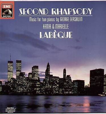 Katia & Marielle Labeque ~ Second Rhapsody [George Gershwin] ~ 1988 German Lp