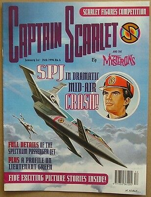 Captain Scarlet and the Mysterons Comic Issue 6 from January 1994
