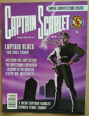 Captain Scarlet and the Mysterons Comic Issue 7 from January 1994