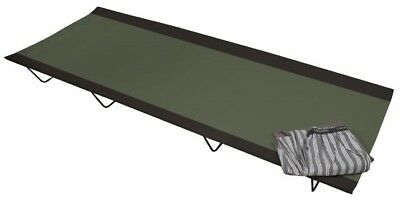 Kampa Slumber Plus Foldable Portable Camping /Camp Single Bed