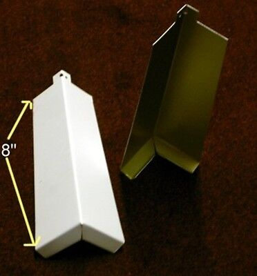 New 25 Aluminum Outside Corners White Smooth Siding Products