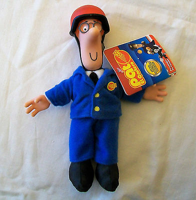 "POSTMAN PAT Collectable 8"" Plush Figure PILOT PAT with Hard Plastic Head & Hands"