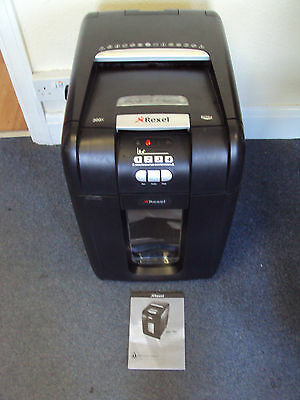 REXEL AUTO+ 300X Heavy Duty Paper Shredder - Working with small issue