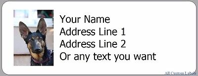 Suuup? - 30 Personalized Return Address Labels Dogs