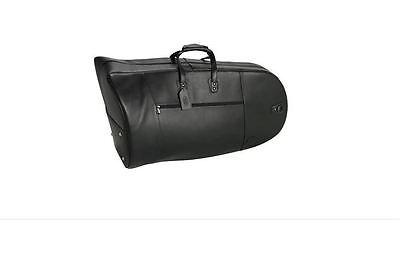 Reunion Blues Clearance Sale, Black Premium Leather Eeb Tuba Case, Vintage Style