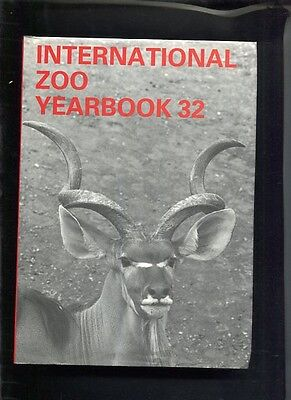 International Zoo Yearbook, vol 32, Ungulates Zoological Society of London: