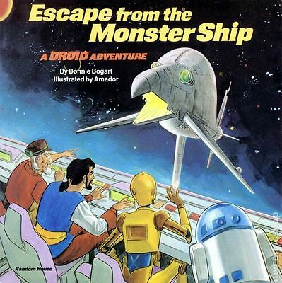 Escape from the Monster Ship SC (1986 Star Wars) A Droid Adventure #1-1ST FN