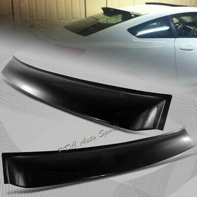 For Honda Civic 9TH Gen 2DR/Coupe ABS Plastic Roof Window Deflect Spoiler Visor