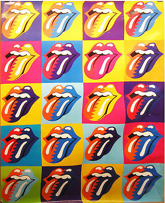 Rolling Stones Logo GIANT In-STORE PROMO POSTER 3X5 foot VG+