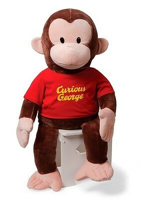 "JUMBO GIANT CURIOUS GEORGE - by GUND - 36"" - BRAND NEW - #320696 - SALE PRICE!"