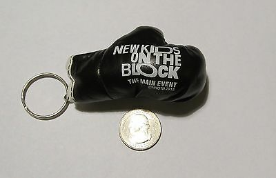 New Kids On The Block Mini Boxing Glove Key Chain from NKOTB 2015 VIP package