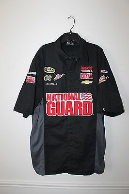 New Dale Earnhardt Jr #88 National Guard NASCAR Racing pit crew shirt men's L