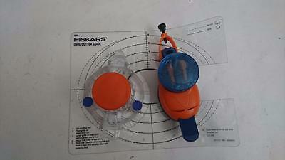 Fiskars Oval Cutter with Cutter Guide plus Unbranded Circle Cutter
