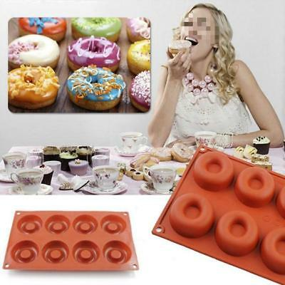 Silicone Donut Muffin Chocolate Cake Cookie Cupcake Baking Mold Mould Pan DIY BS