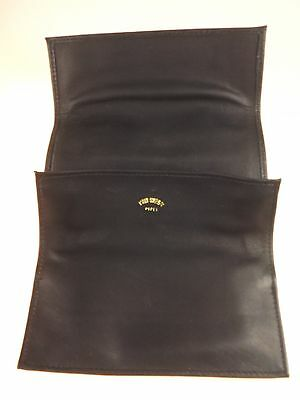 New Tim West Pipe Leather Tri-Fold-up Pipe Tobacco Pouch Soft Best of the West