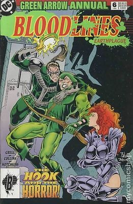 Green Arrow (1987 1st Series) Annual #6 FN