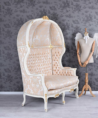 Gigant Sofa Baroque Carrosse French Chair Antique Two-Seater XXL