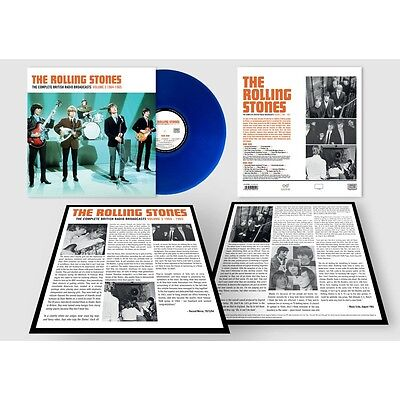 The Rolling Stones - Complete British Radio Broadcasts Vol 3 Blue Lp (Pre-Order)