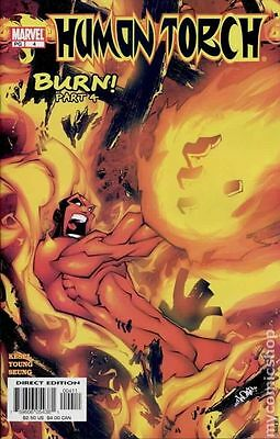 Human Torch (2003 2nd Series) #4 VF