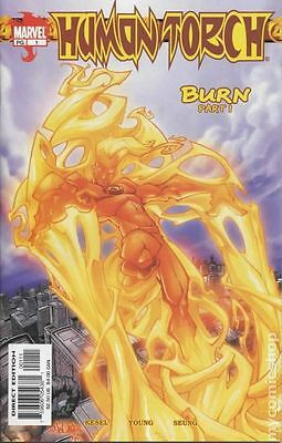 Human Torch (2003 2nd Series) #1 FN