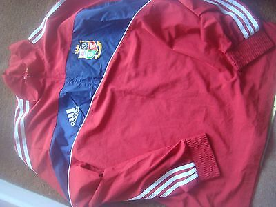 British Lions 2009 South Africa Tour Adidas Formotion Training Jacket Adults 38