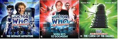 DOCTOR WHO Big Finish Audio CDs The STAGEPLAYS - #s 1 to 3 COMPLETE SET