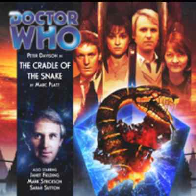 Doctor Who Big Finish Audio CD #138 The CRADLE of the SNAKE (Factory Sealed)
