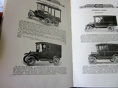 Vtg 1918 Automobile Supply Catalog Gas Station Tool Auto Car Parts Ford Chevy